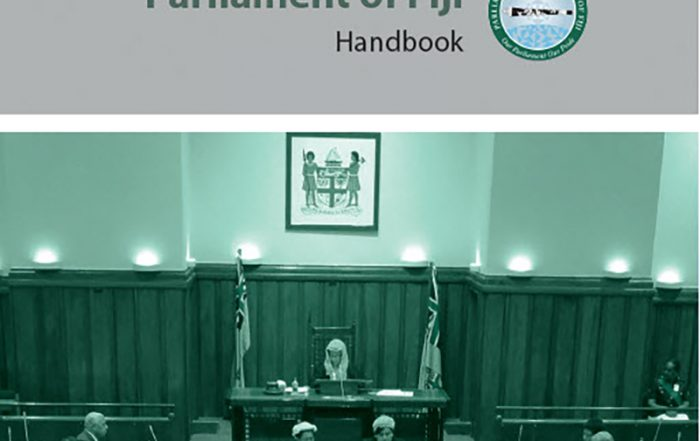 Parliament of Fiji Handbook (2016)