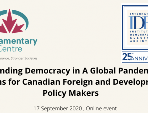 Deveaux Participates in Panel Discussion on Democracy and the Impact of the Pandemic